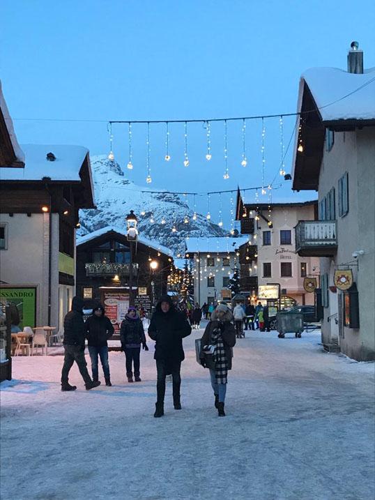 Sciare coi bambini a Livigno,il paese