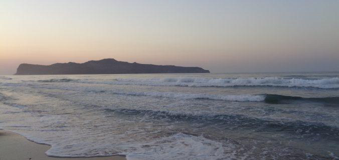 Santa Marina Beach,tramonto dalla spiaggia