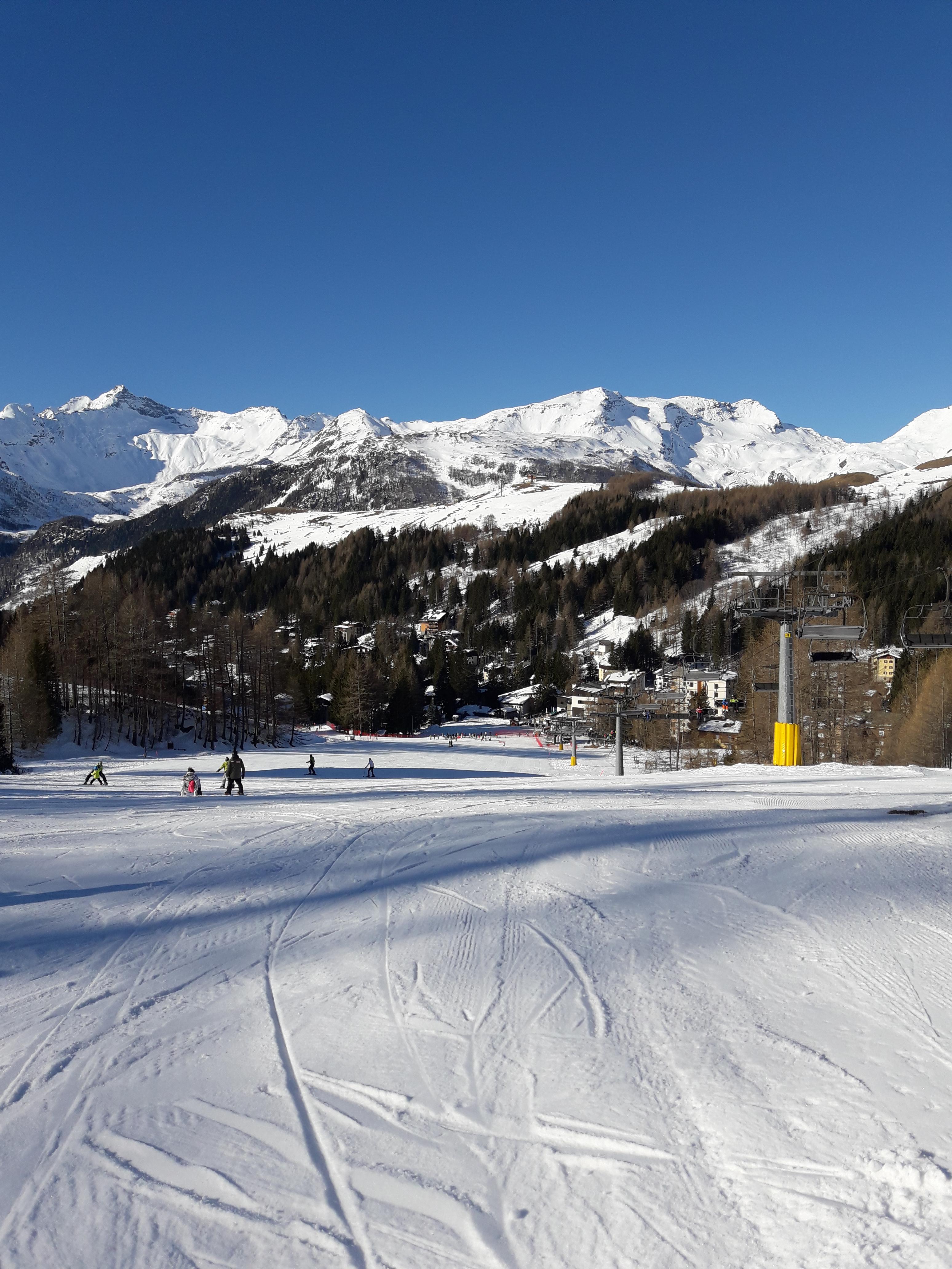 Sciare coi bambini a Madesimo, le piste