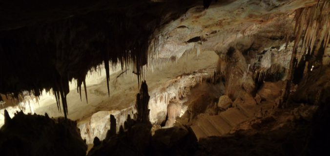 Visitare la Cuevas del Drach coi bambini,l'ingresso della grotta