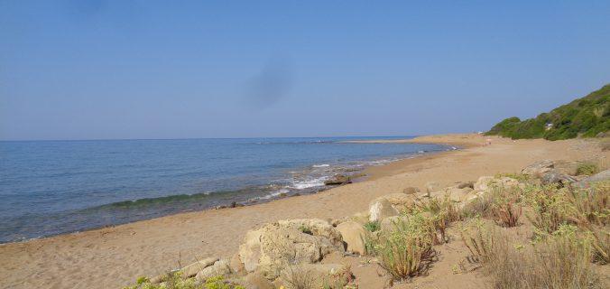 spiagge di corfù coi bambini