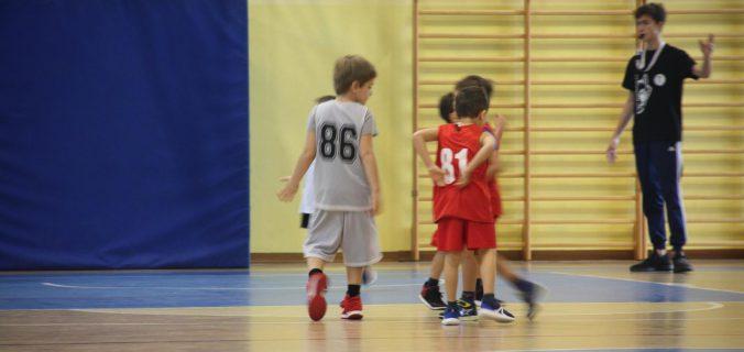 Basket per i bambini, la squadra