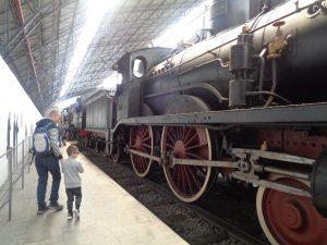 Museo della Scienza e della Tecnologia, le locomotive a vapore