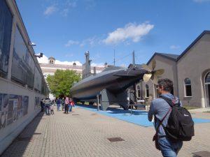 Museo della Scienza e della Tecnologia,sottomarino Toti
