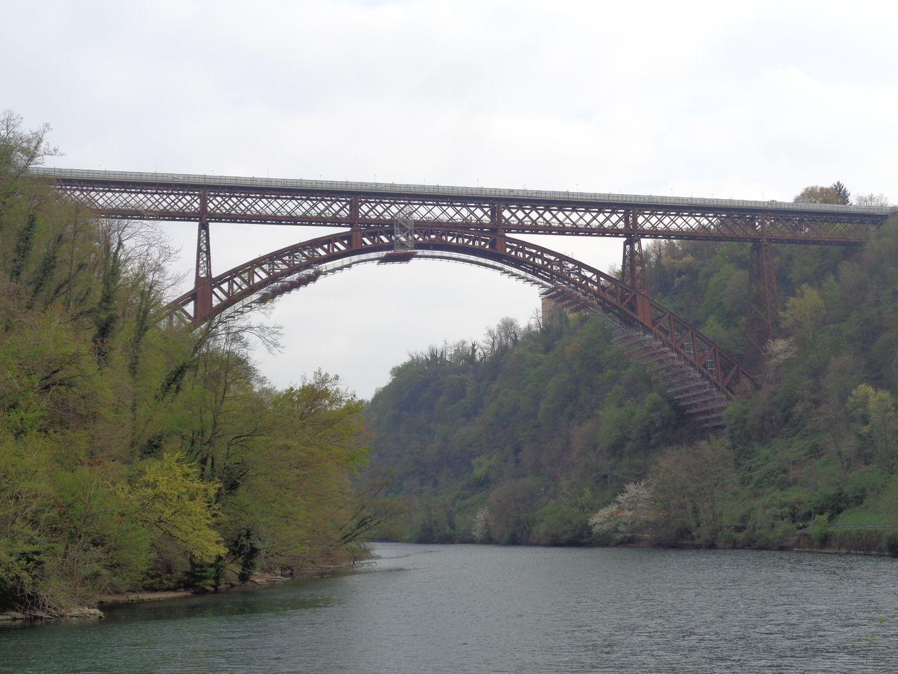 passeggiata lungo l'Adda,il ponte di paderno