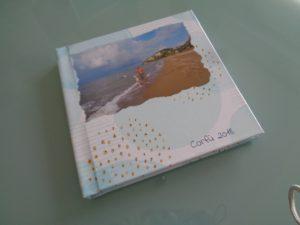 album per le foto dei viaggi,la copertina
