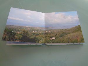 album per le foto dei viaggi,la pagina panoramica