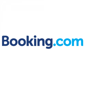Prenotre tramite Booking, il logo