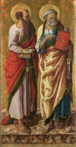 Come fare la barca di San Pietro, i santi Pietro e Paolo