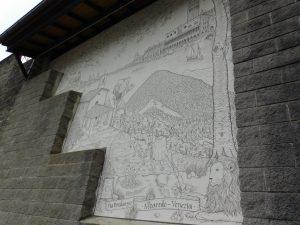 Cosa fare ad Albaredo per San Marco e dintorni,i murales di Albaredo