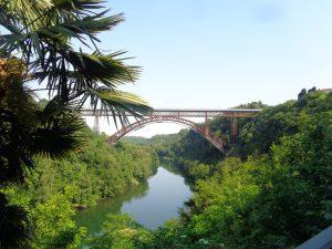 La ciclabile dell'Adda da Paderno a Trezzo,il ponte di paderno
