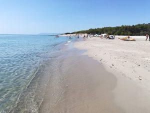 spiaggia bidderosa coi bambini