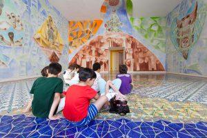 Tre idee per innamorarsi di Napoli con i bambini,bambini al museo madre