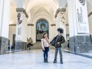 Tre idee per innamorarsi di Napoli con i bambini, bambini al MANN