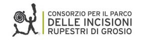 Logo del Parco deel incisioni rupestri di grosio