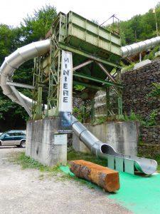 parcheggio delle miniere di cortabbio