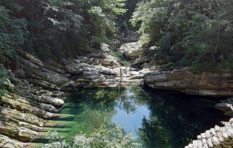 Pozza del torrente Breggia