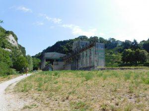 Cementificio Holcim al Parco delle Gole della Breggia