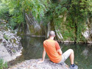 Pozze del torrente Breggia