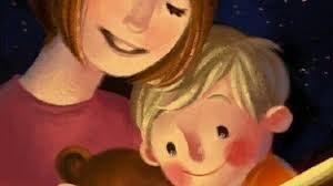 mamma e bambino che leggono