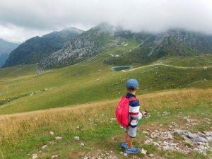 escursione coi bambini dai Piani di Bobbio: vista dallo Zucco Orscellera