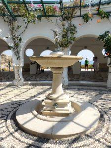 Visitare le Terme di Kallithea: la fontan