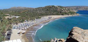 Vacanza a Creta coi bambini:spiaggia di Vai
