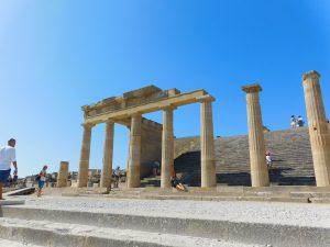 Cosa vedere a Lindos:il tempio di atena LIndia