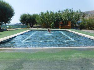 Dove dormire a Lindos:la piscina dei piccoli