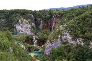 Viaggio in Croazia coi bambini: laghi inferiori plitvice