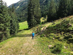 sentiero dllo scoiattolo valle di casies