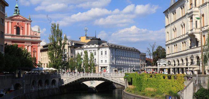 Viaggio in Slovenia a misura di bambino: triplice ponte a lubiana