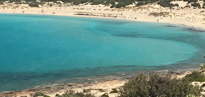 viaggio in Peloponneso coi bambini: elafonissos