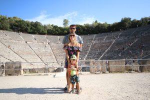viaggio in Peloponneso coi bambini: epidauro
