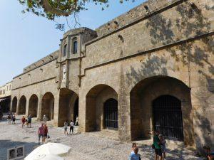 Visitare la città di Rodi coi bambini: Ospedale dei Cavalieri