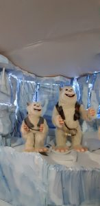 Visitare il Christmas World Agribrianza: gli Yeti canterini