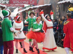 Aquaneva a Natale: parata