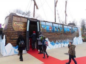 autobus Aquaneva a Natale