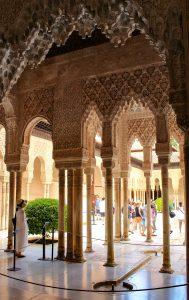 Alhambra a Granada:Viaggio in Andalucia coi bambini