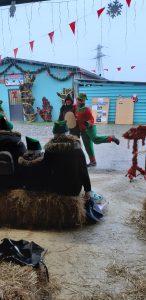 Natale in fattoria: la danza elfica