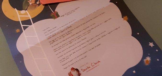 La lettera da santa claus