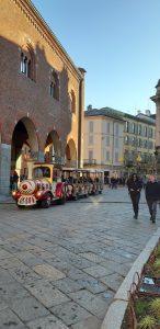 Visitare Monza a Natale: il trenino