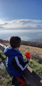 Panorama dalla salita sul Monte Cornizzolo