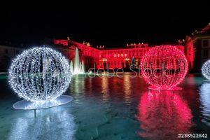 Visitare Monza a Natale: la Villa Reale illuminata