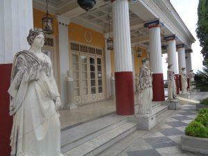 Palazzo dell'achilleio a corfù