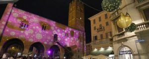Arengario : video mapping