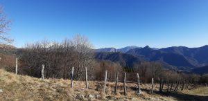 Escursione al Pian del Tivano: visuale sui monti circostanti