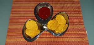 aperitivo messicano mentre è in preparazione la ricetta delle fajitas per adulti e bambini
