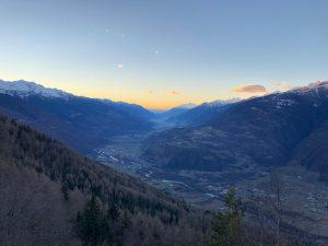 La Valtellina vista dal Pian di Gembro