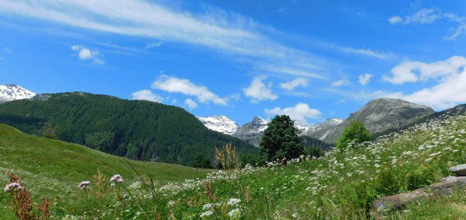 Trekking in Valchiavenna: panorami